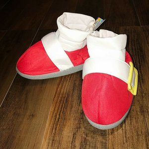 Sonic The Hedgehog Sega Red Sonics Shoes Slippers